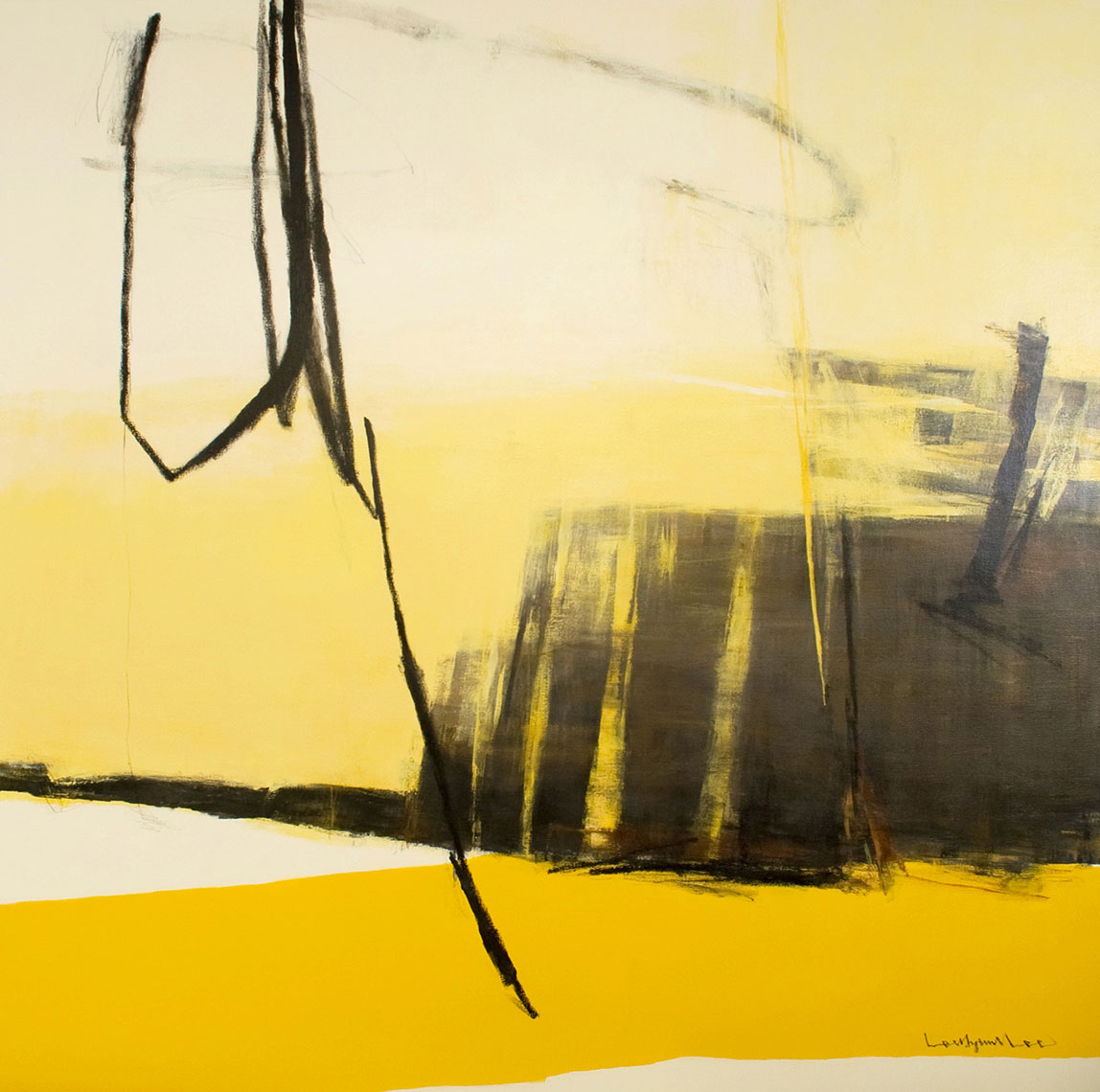 INLAND ISLAND 49.   acrylic on canvas.   72x72 inches.  2009