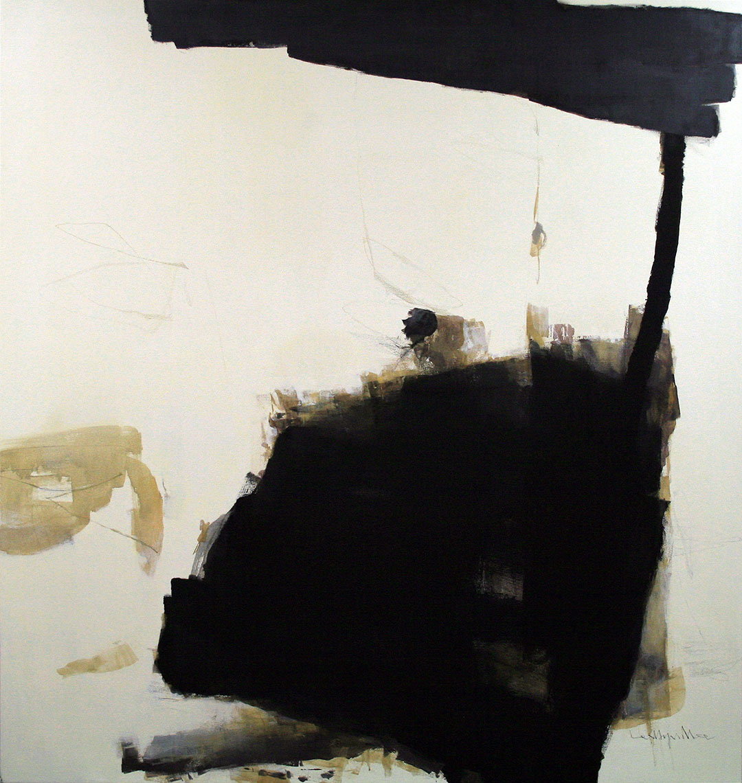 SERAPHIC STONE 4.    acrylic on canvas.  72x72 inches.   2007